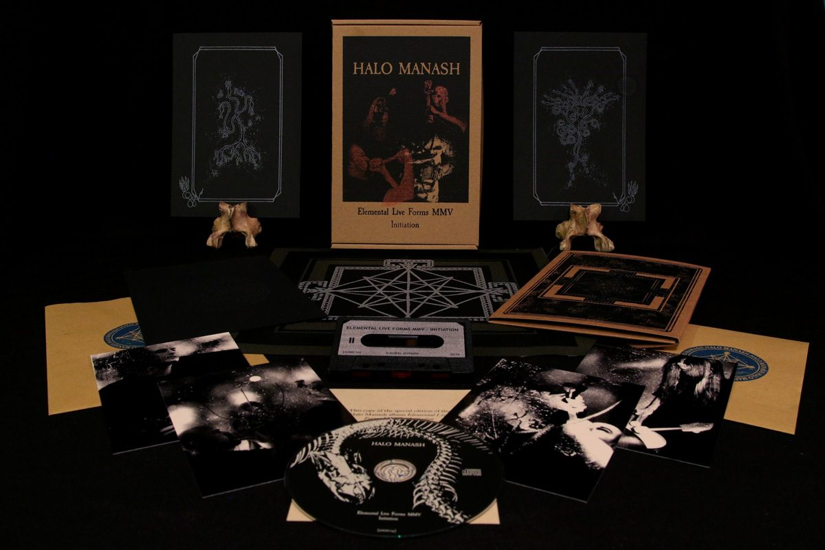 Halo Manash 'Elemental Live Forms MMV – Initiation' BOX SET