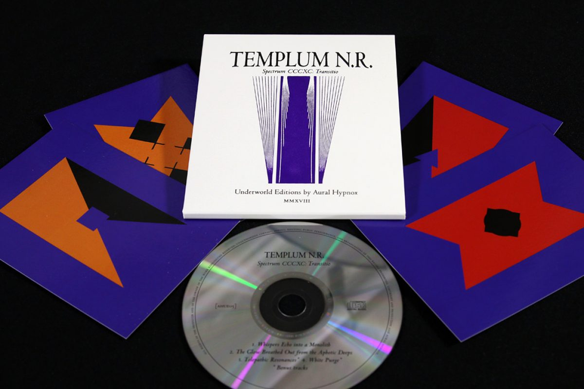 Templum N.R. 'Spectrum CCCXC: Transitio', CD