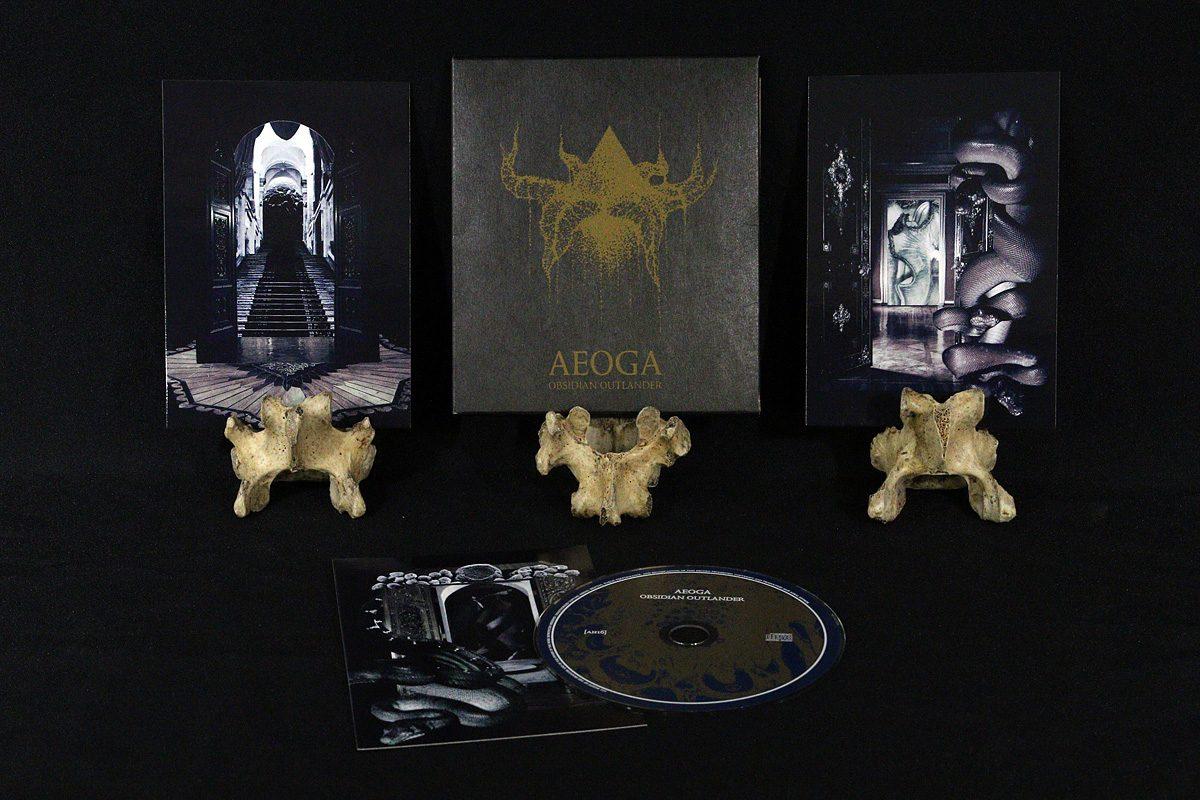 Aeoga 'Obsidian Outlander', CD