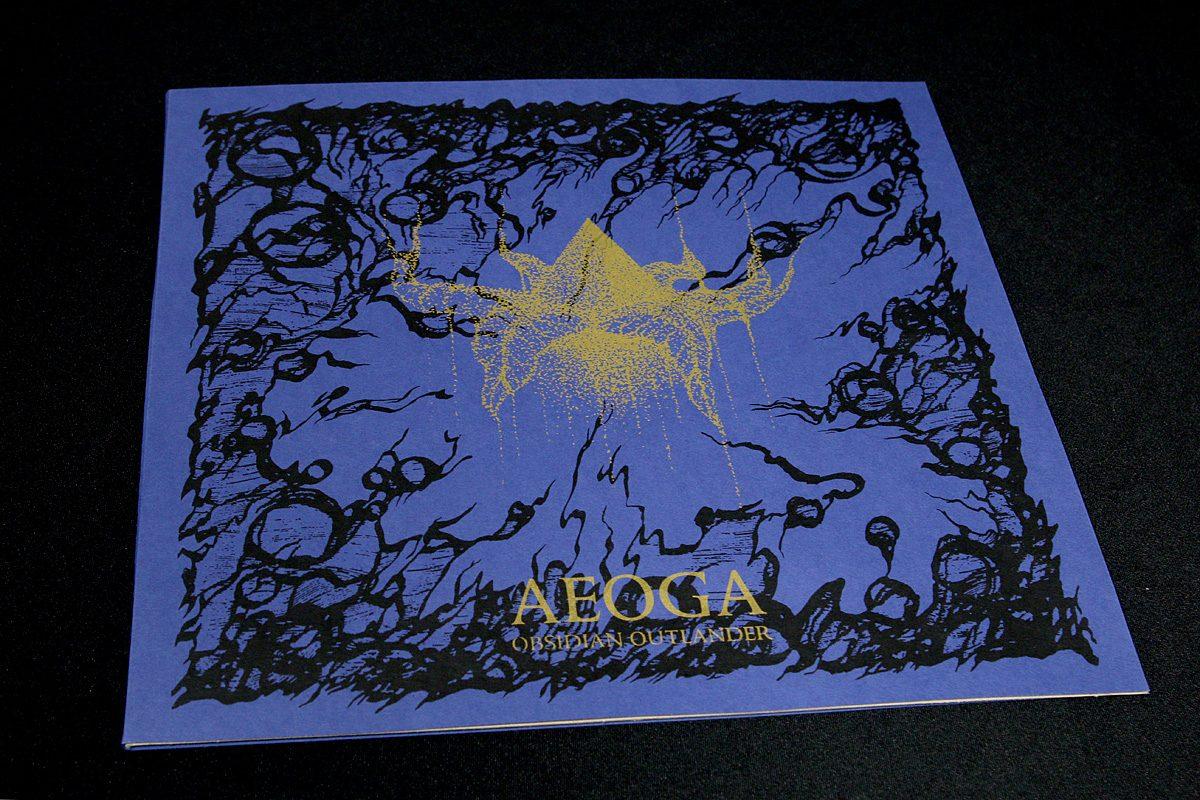 Aeoga 'Obsidian Outlander', LP GOLD edition