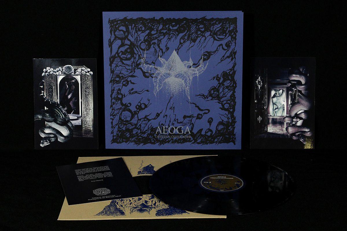 Aeoga 'Obsidian Outlander', LP SILVER edition