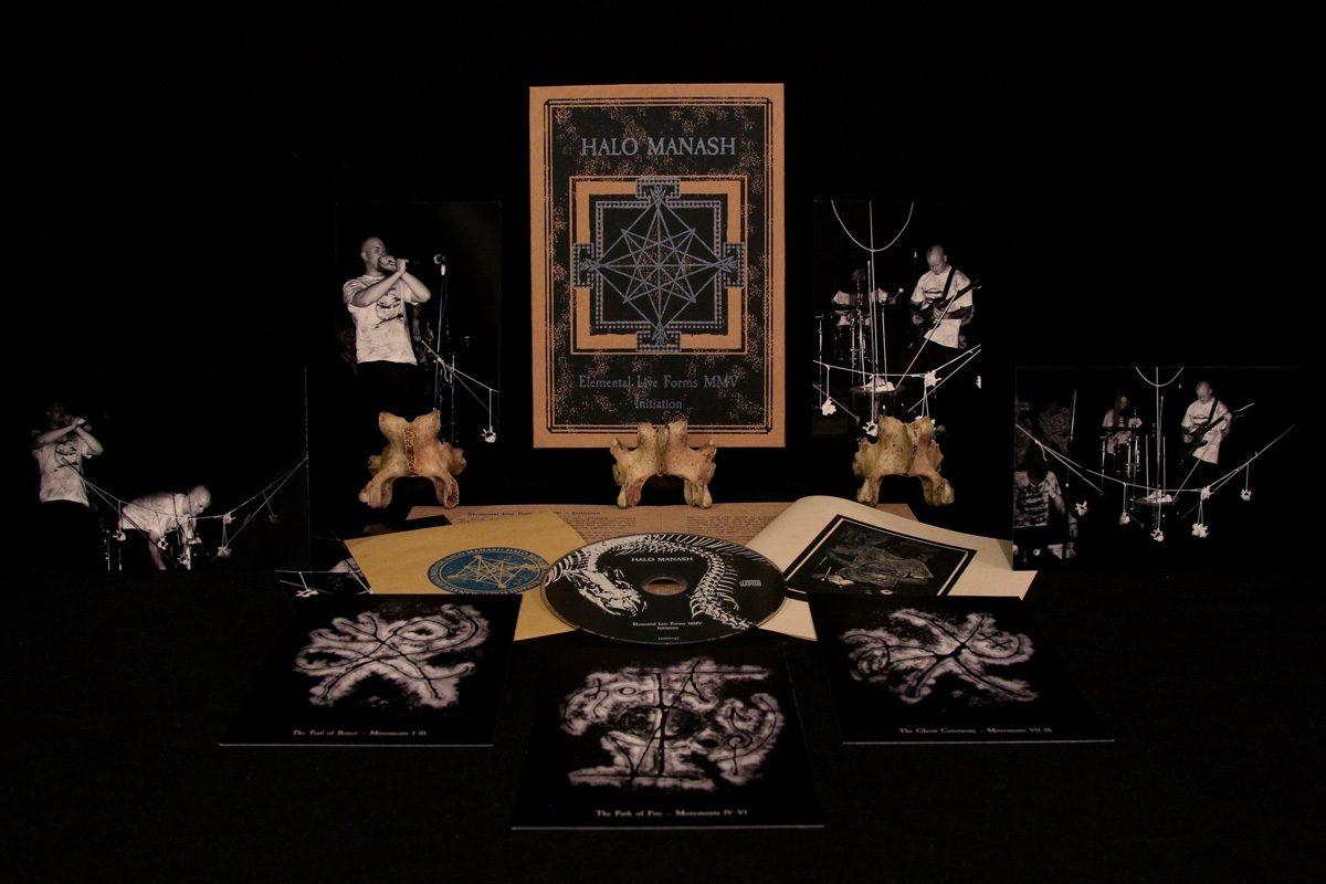 Halo Manash 'Elemental Live Forms MMV – Initiation', CD