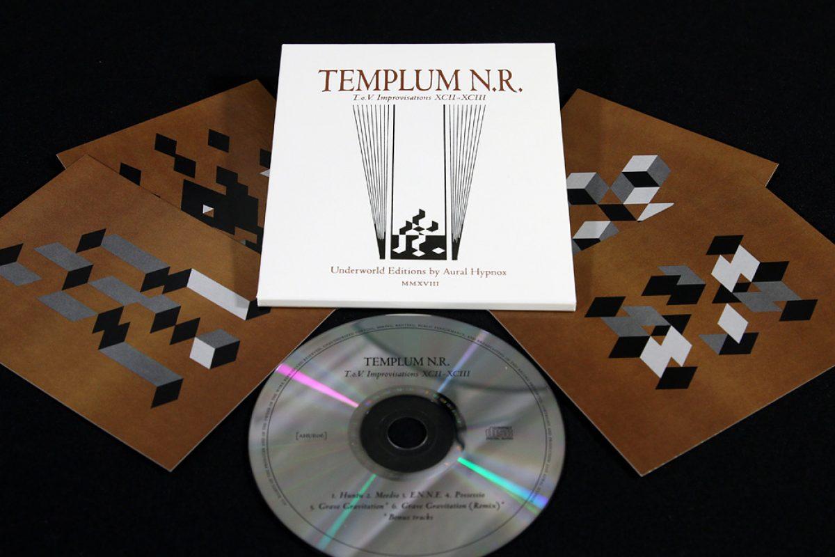 Templum N.R. 'T.o.V. Improvisations XCII-XCIII', CD