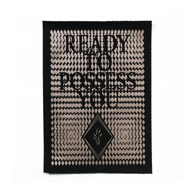 """Templum N.R. """"Ready to Possess You"""" back patch"""